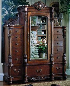 pulaski edwardian mans chest edwardian mans home will gain the grace and dignity of a classic era with the bold sinuously luxurious design of this antique pulaski apothecary style