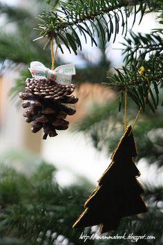 Pine Christmas decorations