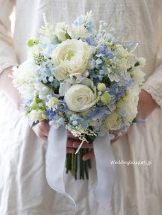 Blue Bouquet, Flower Bouquet Wedding, April Wedding, Blue Wedding, Bride Bouquets, Corsage, Flower Designs, Event Planning, Floral Arrangements