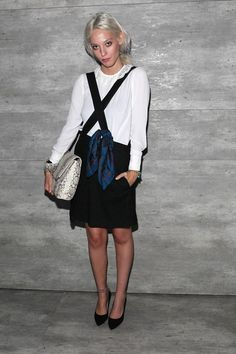 Cory Kennedy Photos: Charlotte Ronson - Front Row - Mercedes-Benz Fashion Week Spring 2015