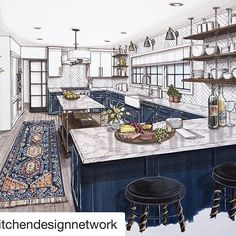 Beautiful kitchen design, Lori Gilder of Kitchen Design Network