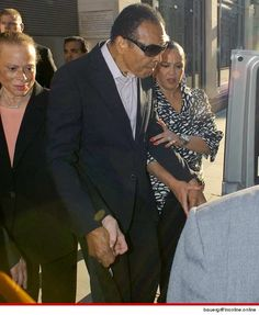 Muhammad Ali -- 'The Greatest' Arrives in London for Olympics