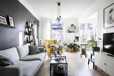 En Suède, les murs ne sont pas toujours blancs - PLANETE DECO a homes world