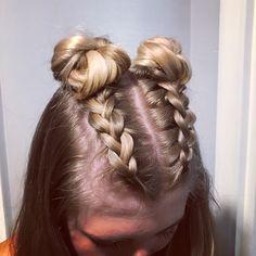 Concert Hairstyles, Girl Hairstyles, Braided Hairstyles, Cochella, Baby Girl Hair, Long Bob, Prom Hair, My Hair, Short Hair Styles
