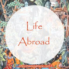 Expat life is not a vacation. Living in foreign countries is interesting, but it is not all adventure and romance, at least not all the time.