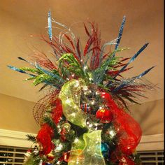 Christmas tree topper, not too late for me to incorporate this into our tree!