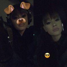 January 4: Ariana via snapchat