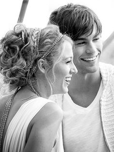 Blake Lively and Chace Crawford. too much perfection in one picture