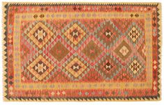 Chilim Afghan Old style 151x238 - CarpetVista