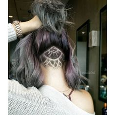 {#Inspiration} These #nape #undercut OMG so obsessed @bescene by vpfashion
