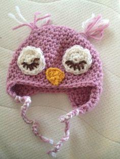 Sleeping Owl-hat... Love It For Newbies! <3