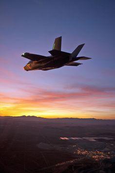 F-35 Lightning II Night Flight