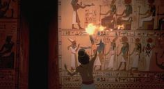 アマルナの神殿にて
