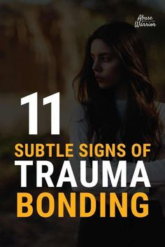 11 Signs of Trauma Bond The brain changes through narcissistic abuse and you can quite literally become addicted to your abusive partner and this can create trauma bonding.Trauma bonding occurs…