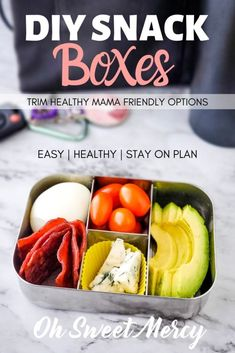 Easy Snack Box Ideas for the Trim Healthy Mama