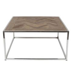 Reclaimed Elm, Stainless Steel Natural Finish x x Side Tables, Steel, Coffee, Furniture, Home Decor, Kaffee, Occasional Tables, Interior Design, Home Interior Design