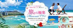 旅する極楽Hawaiiプラン│ハワイ挙式後の最高の過ごし方、知りたい!