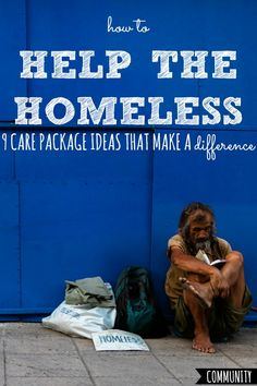 Ever wondered how to help the homeless? I mean, how to REALLY make a difference? Here's exactly what they want and need most, based on feedback from shelters, homeless ministries, and the homeless themselves. Homeless Bags, Homeless Care Package, Homeless People, Blessing Bags, Service Projects, Service Ideas, Helping The Homeless, Money Saving Tips, Girl Scouts