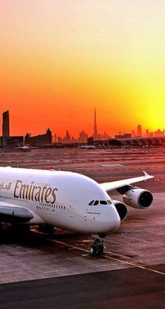 Emirates Airbus in Dubai Airport. Kyms trip 2013 # Manchester - Dubai brilliant flight & aircraft has its own bar nothing like having a Bacardi & coke at 55000 ft Abu Dhabi, Emirates Airbus, Emirates Airline, In Dubai, Dubai City, Dubai Uae, Voyage Dubai, Photo Avion, Dubai Airport