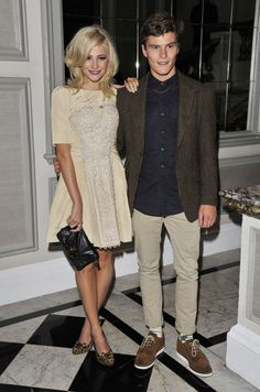 Pixie Lott, Oliver Cheshire, Alice Temperley, Front Row, London Fashion Week