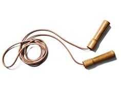 Jumping Rope in Leather by Kaufman Mercantile I Remodelista