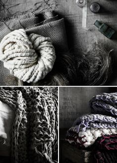 Handknitted blankets and throws made by Little Dandelion – photos by Sharyn Cairns, styling by Glen Proebstel.