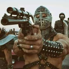Kjell Nilsson as Lord Humungus in Mad Max The Road Warrior Mad Max Road, Mad Max 2, Mad Max Fury, Nail Bat, Cult Movies, Action Movies, Mad Movies, Fallout, Science Fiction