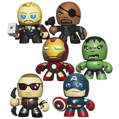 Avengers Mini Mighty Muggs Action Figures