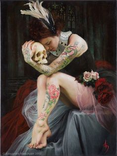to be or not to be.... beautiful tattoos!