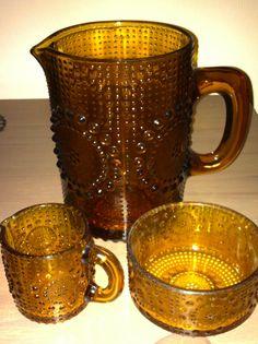 Nanny Still. Amber Glass, Glass Design, Moscow Mule Mugs, Teapot, Finland, Ceramics, Retro, Tableware, Classic
