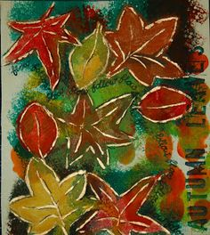 """Autumn Leaves"" by Mariska Dommers-Slager"