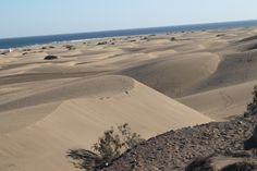 Gran Canaria #GranCanaria #beach #playa #dunas #sand #beautiful #beauty #pretty #view #water #ocean