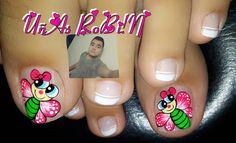 Toe Nails, Pedicure, Nail Designs, Instagram Posts, Beauty, Nail Design, Pretty Toe Nails, Simple Toe Nails, Simple Elegant Nails