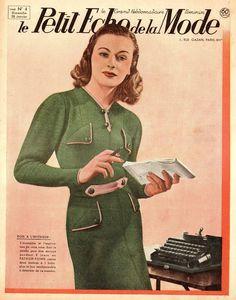 TO DIY OR NOT TO DIY: PETIT ECHO DE LA MODE 1940