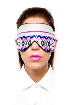 This sleeping mask is so trendy!