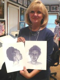 How does a forensic artist come up with the composite sketches of suspects you see on the news? In this illuminating report from KCUR, Meet Lee Hammond, the woman who has worked with KCPD for 30 years to produce these drawings. http://kcur.org/post/local-artist-s-drawings-help-solve-crimes