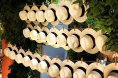 Wedding Gifts For Guests i love the idea of straw hats for guests at a summer outdoor wedding! Wedding Favours, Wedding Gifts, Wedding Ideas, Wedding Hats For Guests, Party Wedding, Havanna Party, Summer Wedding, Dream Wedding, Garden Wedding