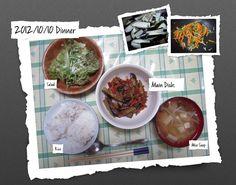 For Dinner on 10/Oct/2012