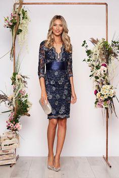 Rochii scurte de ocazie la modă în 2020 - Rochii de ocazie în vogă anul acesta Nasa, Satin, Dresses, Fashion, Women's, Vestidos, Tulle, Moda Femenina, Moda