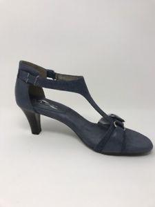 c4c526516af6 A2 By Aerosoles Womens Heels Blue T- Stap Sandals Lollipowp Size 10M BRAND  NEW