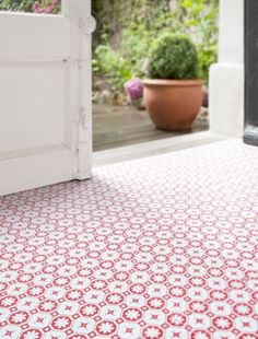 Looks like the inside of an Octaspring mattress! Choose practical patterned vinyl flooring for your kitchen http://octaspring.co.uk