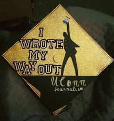 Image result for hamilton graduation cap
