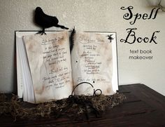 DIY Spell book. Inexpensive and easy.