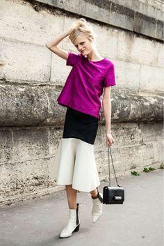 Hanne Gaby Odiele with a Valentino bag | hanne gaby odiele valentino fashion inspiration browns fashion