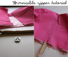 How-To: Install an Invisible Zipper by Kate from See Kate Sew