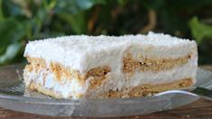 Greek Cookies, Lemon Coconut, Greek Recipes, Vegan Dinners, Vanilla Cake, Deserts, Food And Drink, Cooking, Sweet