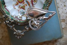 Spoon Necklace Phoebe Heart by Silver Spoon by silverspoonj, $59.00