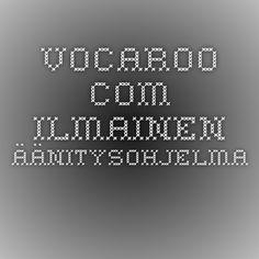 vocaroo.com - ilmainen äänitysohjelma.