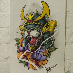 Chest Tattoo Drawings, Tattoo Design Drawings, Tattoo Designs, Traditional Tattoo Design, Traditional Japanese Tattoos, Tiger Tattoo, Cat Tattoo, Japanese Tattoo Art, Japanese Art