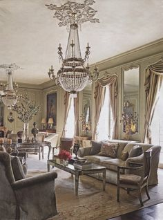 Restoration of a 1930′s Houston Louis XV style Manor. Interior design by Kara Childress. Renovation by Newberry Campa Architects. AD August 2013